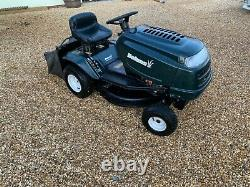 Used petrol ride on lawn mowers