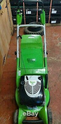 VIKING MB650 VR Petrol Self Propelled Rear Roller Lawnmower. Good Working Order