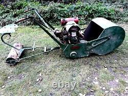Vintage Ransomes, Sims & Jefferies 24 Motor Mower Mk 8