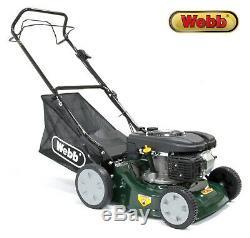 Webb 16 Petrol Self-Propelled Lawnmower (Self-Drive Lawn Mower) + WARRANTY