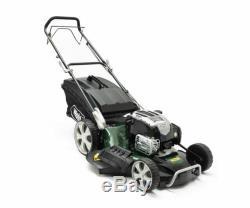 Webb R21HW Supreme 53cm (21) 4-in-1 Hi-Wheel Self-Propelled Petrol Lawn Mower