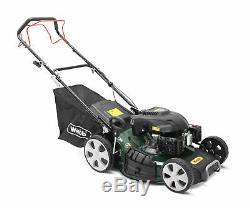 Webb R510SP Classic Petrol Self Propelled Rotary Lawn Mower 51cm/20in