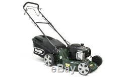 Webb Supreme R18SP Petrol Self Propelled 3 in 1 Rotary Lawn Mower