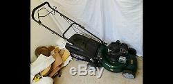 Webb Supreme R18SP Petrol Self Propelled 3 in 1 Rotary Lawn Mower + grass box