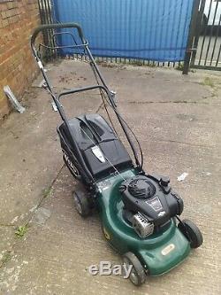 Webb Supreme R18SP Petrol Self Propelled 3 in 1 Rotary Lawn Mower + grass box