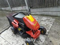 Wolf Garten Ride On Scooter Mower. Good Condition and Working, See Full Descrip