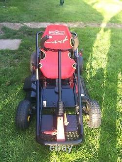Wolf garden cart ride on mower go kart mower