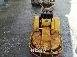 Wolseley petrol clearway walk behind self-propelled heavy duty lawn mower